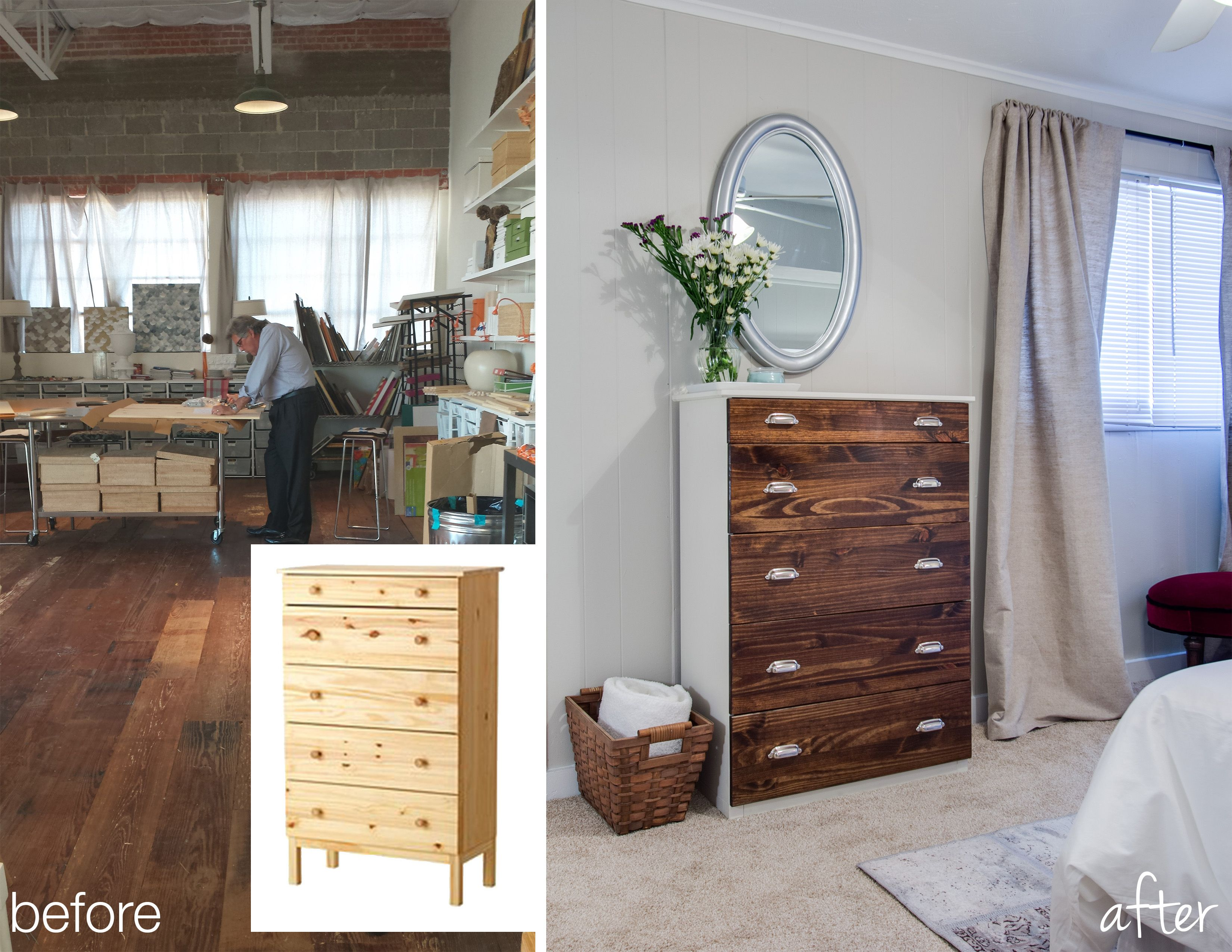 Ikea Hack Dresser Before And After Diy Furniture
