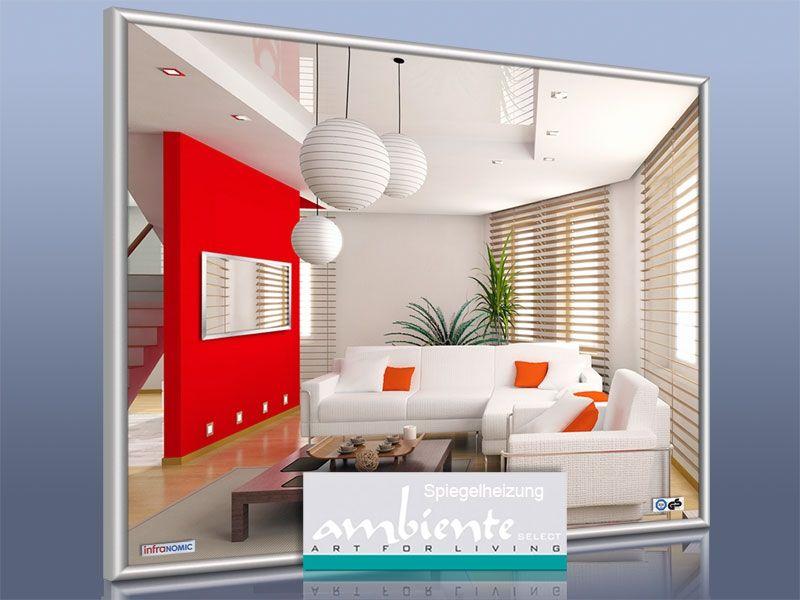 Infrarot Spiegelheizungen können Sie bei uns mit zahlreichen Rahmen ...