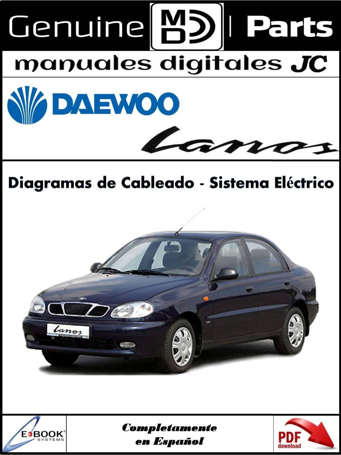 Manual Diagramas de Cableado Sistema Eléctrico para el Daewoo LANOS Correo:  [emailprotected]