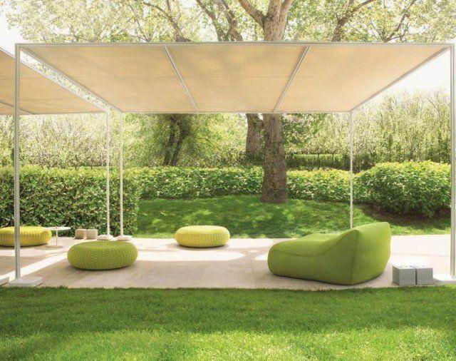 Salon de jardin – le pouf extérieur vous invite à vous relaxer ...