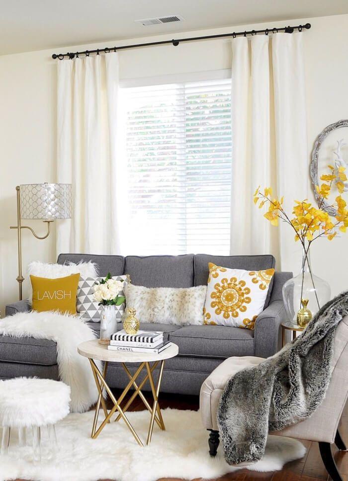 Küçük 28 Oturma Odası Dekorasyon Örnekleri