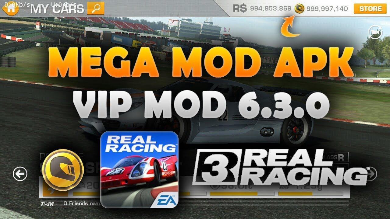 Real Racing 3 Mod Apk 6 3 0 (Unlimited R$/Gold & Money) No