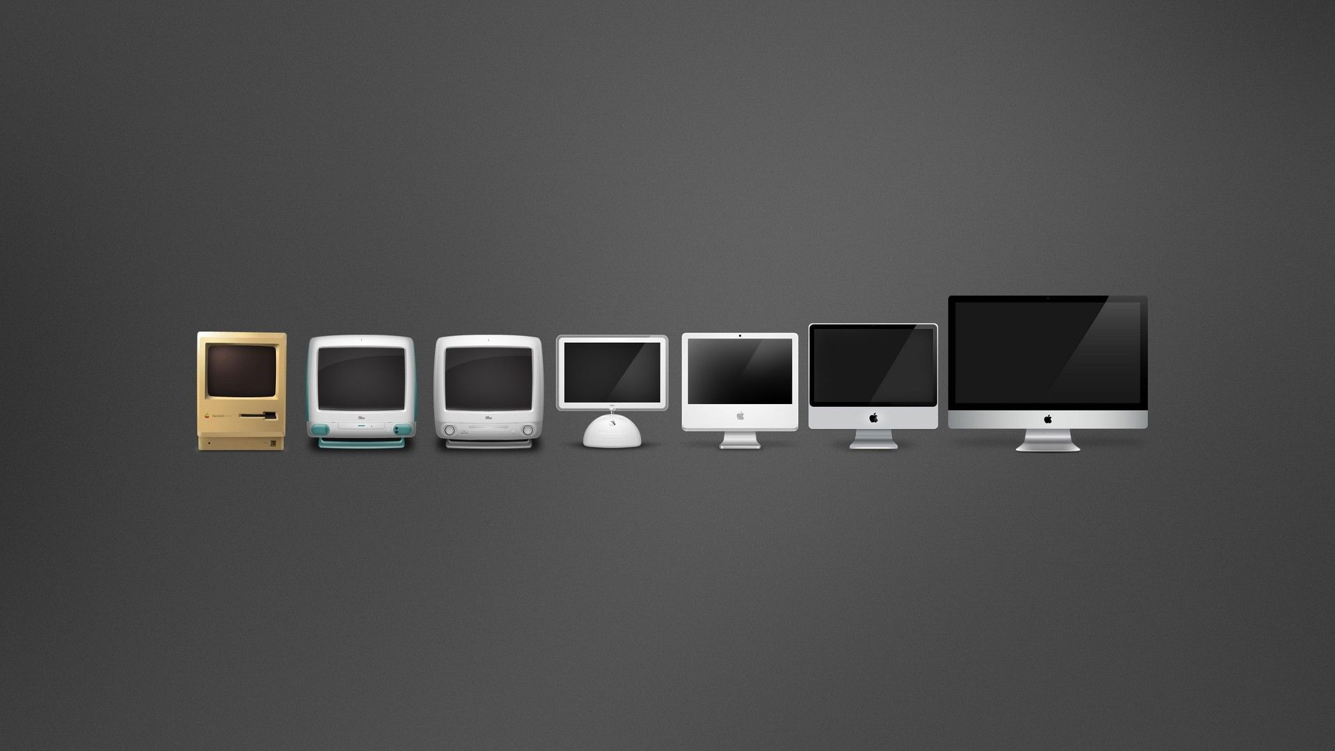 Evolution Garbage Comparisons Macintosh Wallpaper  Wallbase Cc