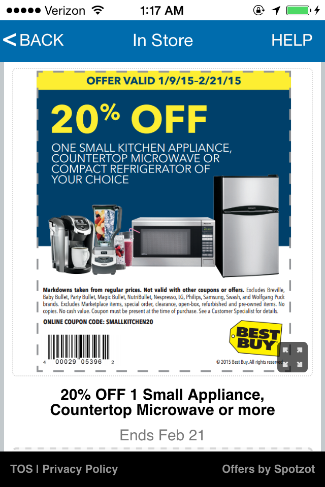 Best Buy Coupon on Paid2Save App: Request free App download to access coupons(s) http://619.be/62rv