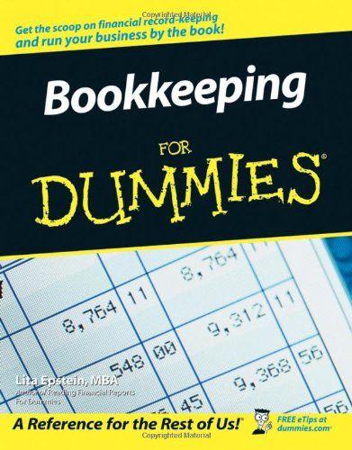 Bookkeeping For Dummies by Lita Epstein Livres et Livre de Cuisine