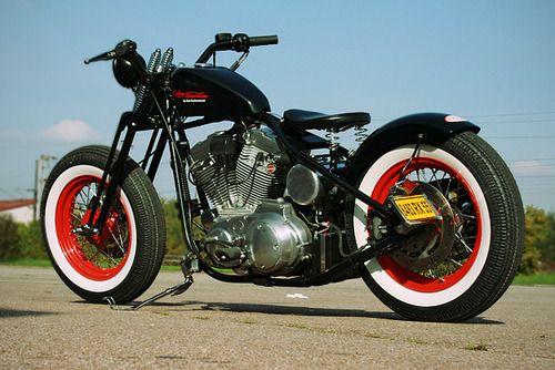 Sportster | Bobber Inspiration - Bobbers and Custom Motorcycles | shotbike September 2014