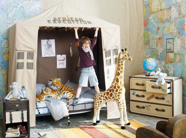 petite cabane tr s sympa pour graine d 39 explorateur on imagine bien son petit bonhomme dedans. Black Bedroom Furniture Sets. Home Design Ideas