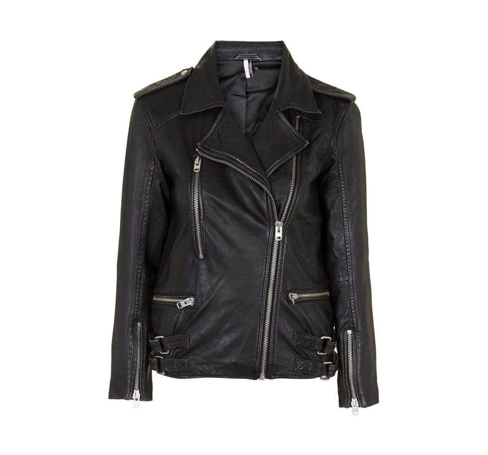 5 Leather Biker Jackets For Under 500 Clothes Leather Jackets Women Distressed Leather Jacket [ 914 x 980 Pixel ]