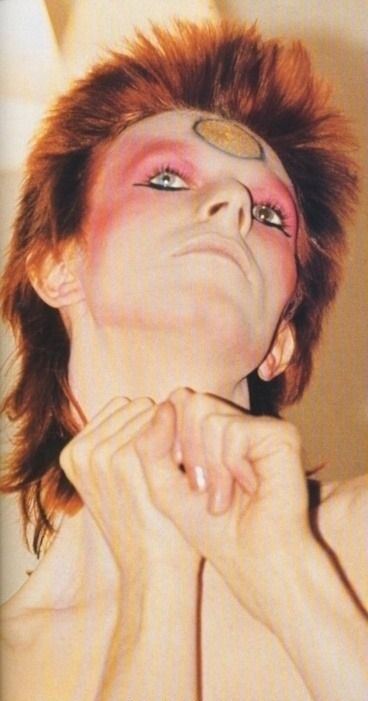 David Bowie 70's The look that inspired my first time in drag!