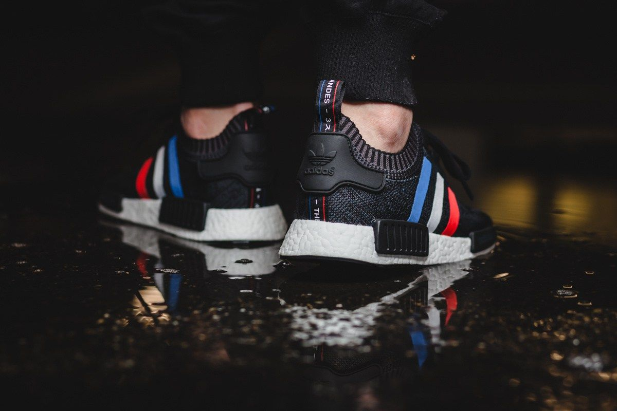Adidas Nmd R1 Primeknit Tri Color Pack Hype Shoes Nike Shoes