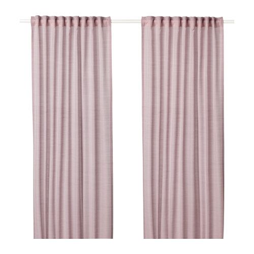 cortinas rosas ikea