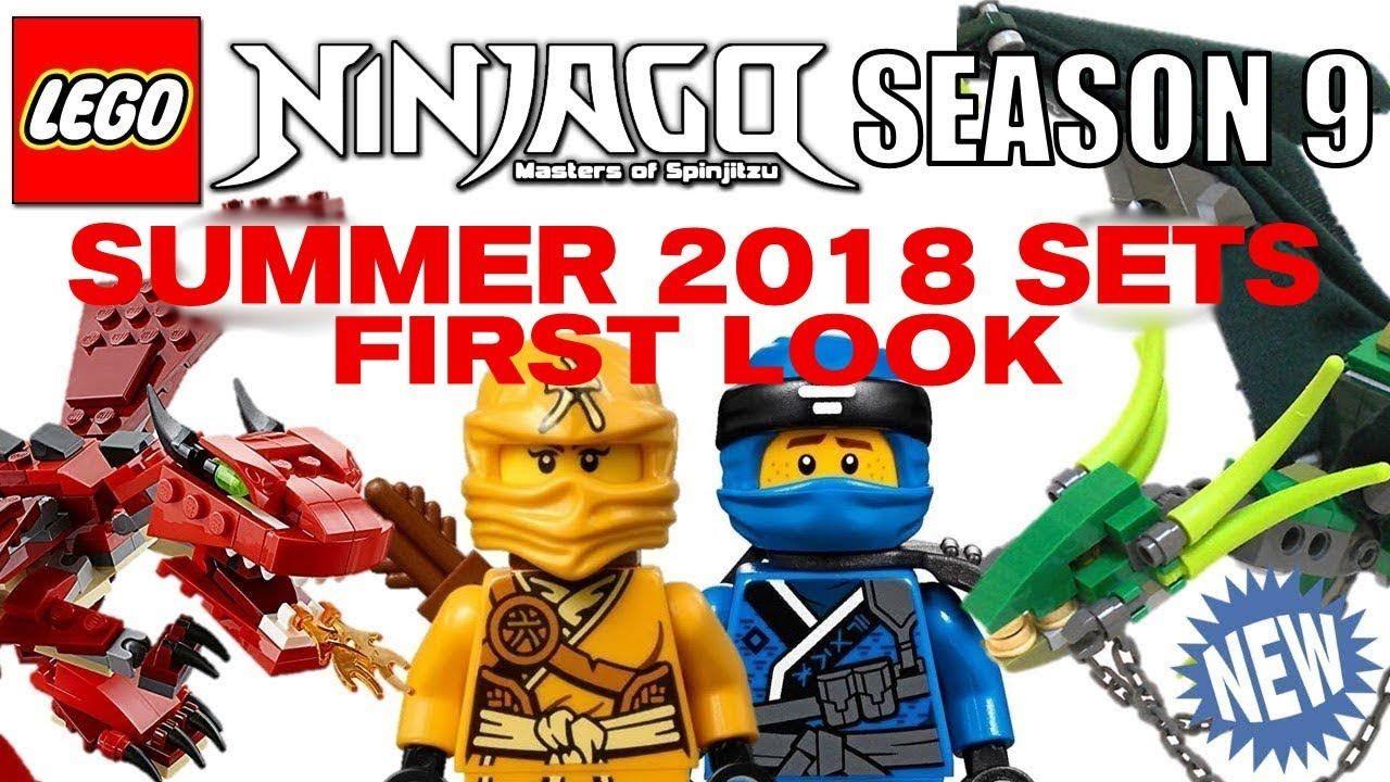 LEGO NINJAGO 2018 Season 9 Summer Sets First Look