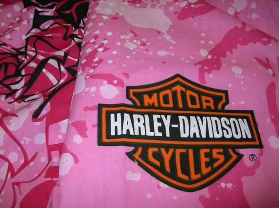 Harley Davidson Motorcycle Don T Call Me Baby Pink Black