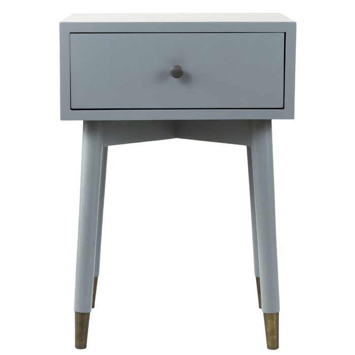 Best Pellston 1 Drawer Nightstand End Tables With Storage 400 x 300