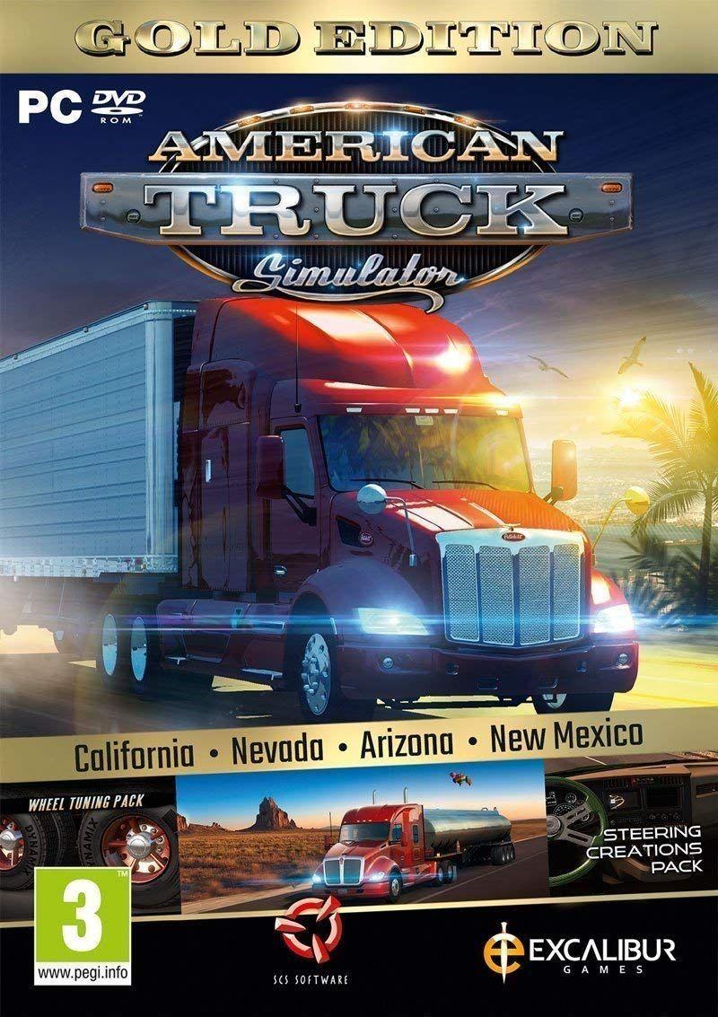 American Truck Simulator Gold (New Mexico DLC/Wheel