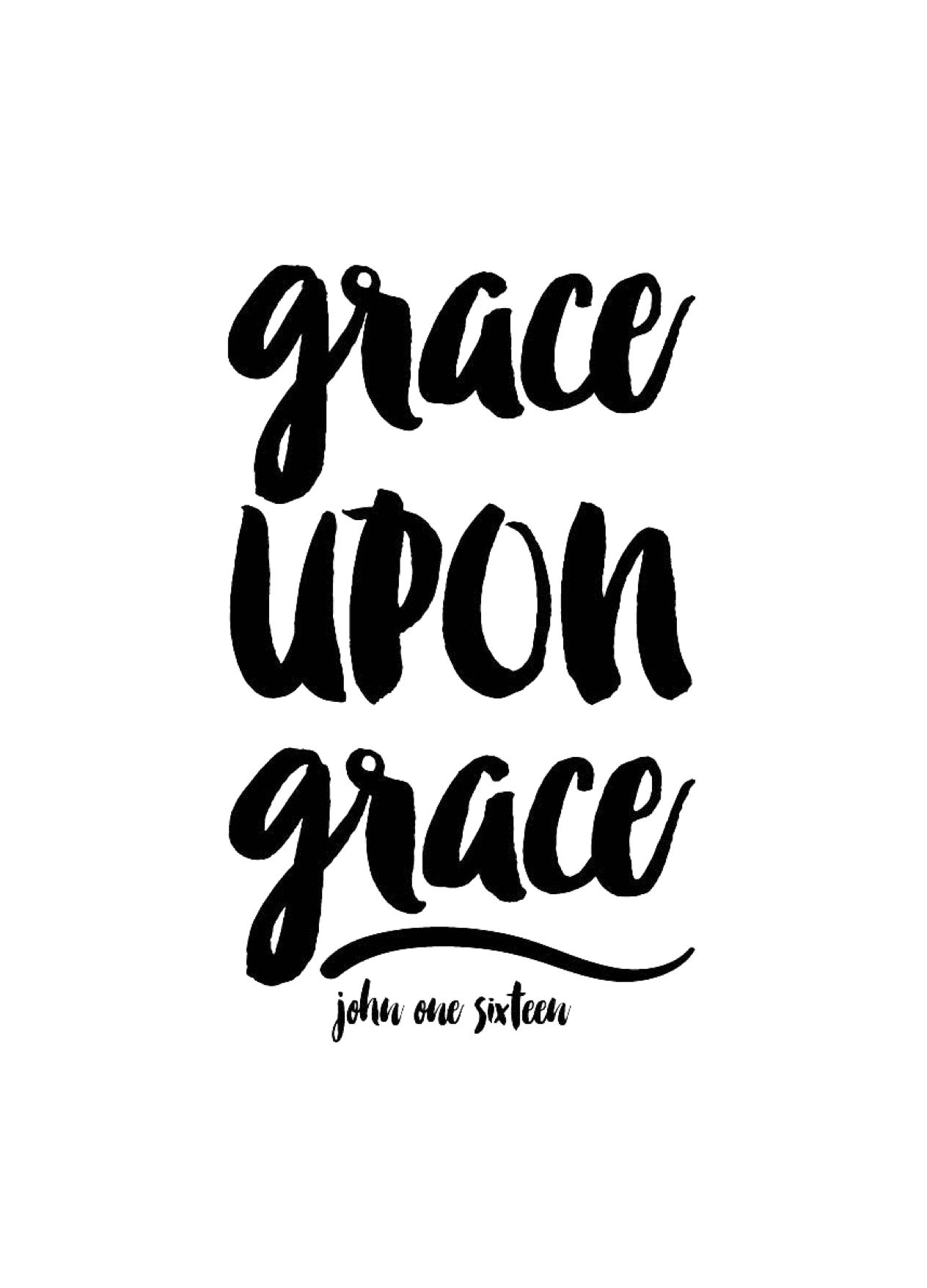 Grace Upon John 116