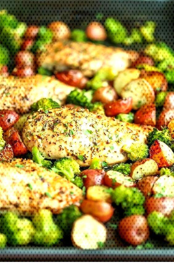 Food Restock One Pan Honey Garlic Chicken And Veggies - Food Restock One Pan Honey Garlic Chicke