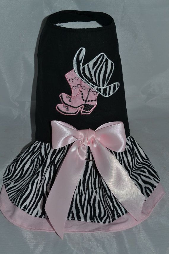 Cow Girl Dress by PokeyPuppyCollection on Etsy, $28.00