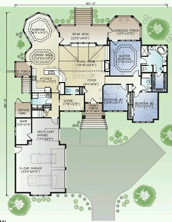 Sunroom House Plans Floor Plans How To Plan