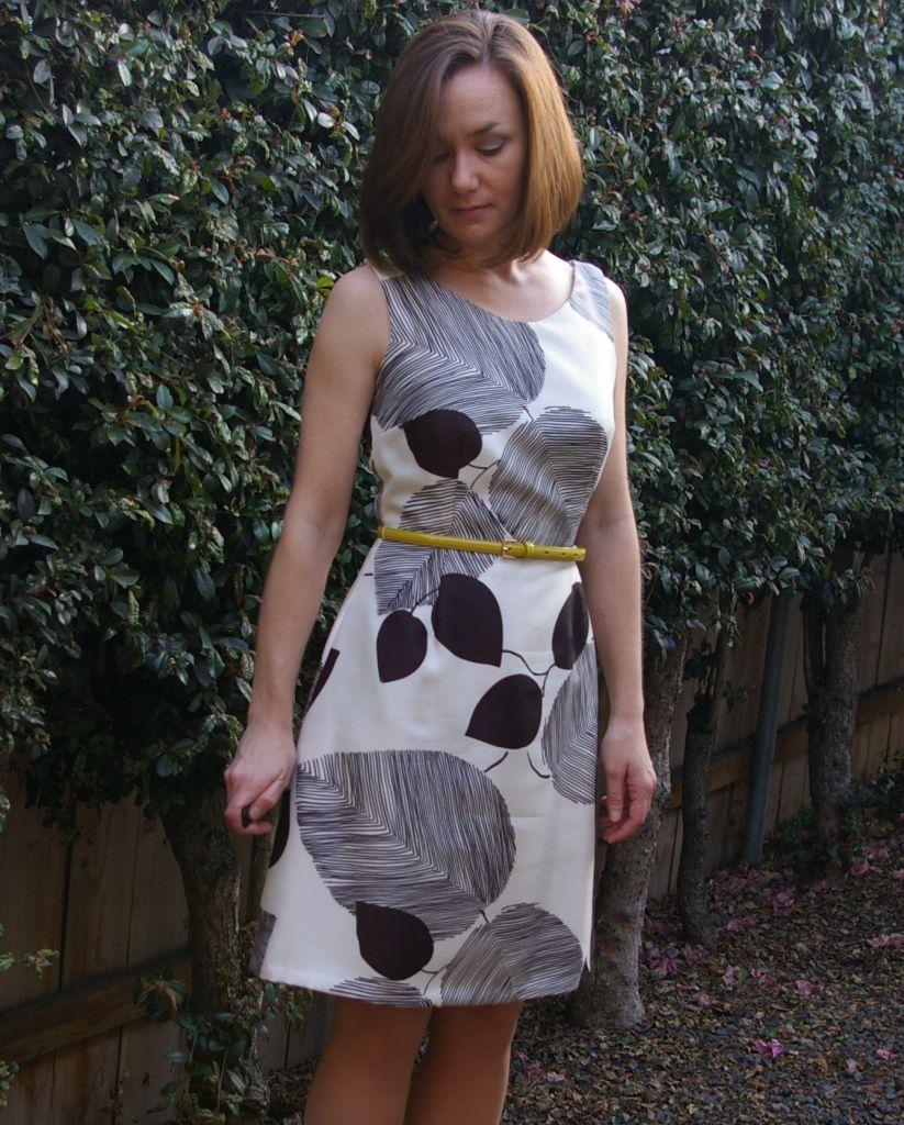Colette Handbook – Truffle Dress