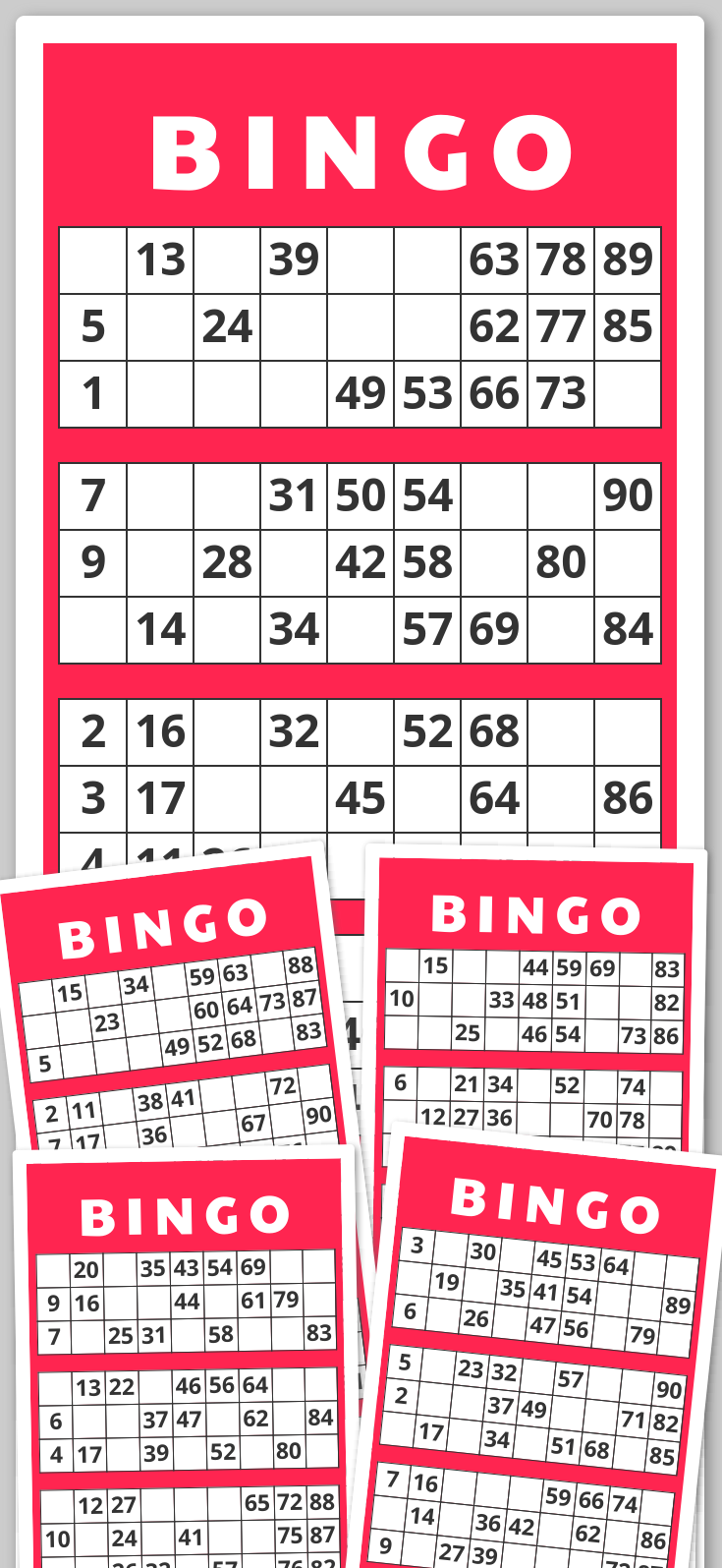 13+ Bingo books to print trends