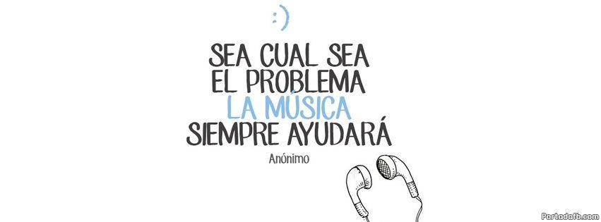 Frases De Musica Para Portada De Facebook Buscar Con