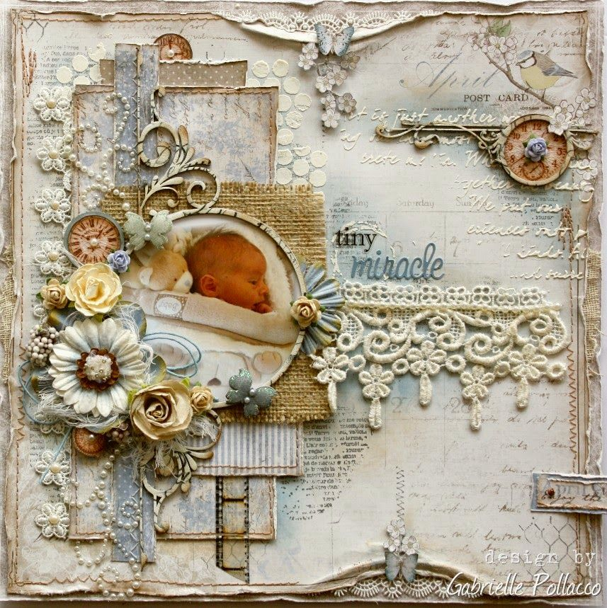 Scrapping Sweet Babies Maja Design Such A Pretty Mess Baby Scrapbook Pages Vintage Scrapbook Scrapbooking Layouts
