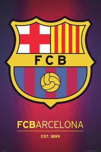 Fc Barcelona Club Crest Posters From Allposters Other