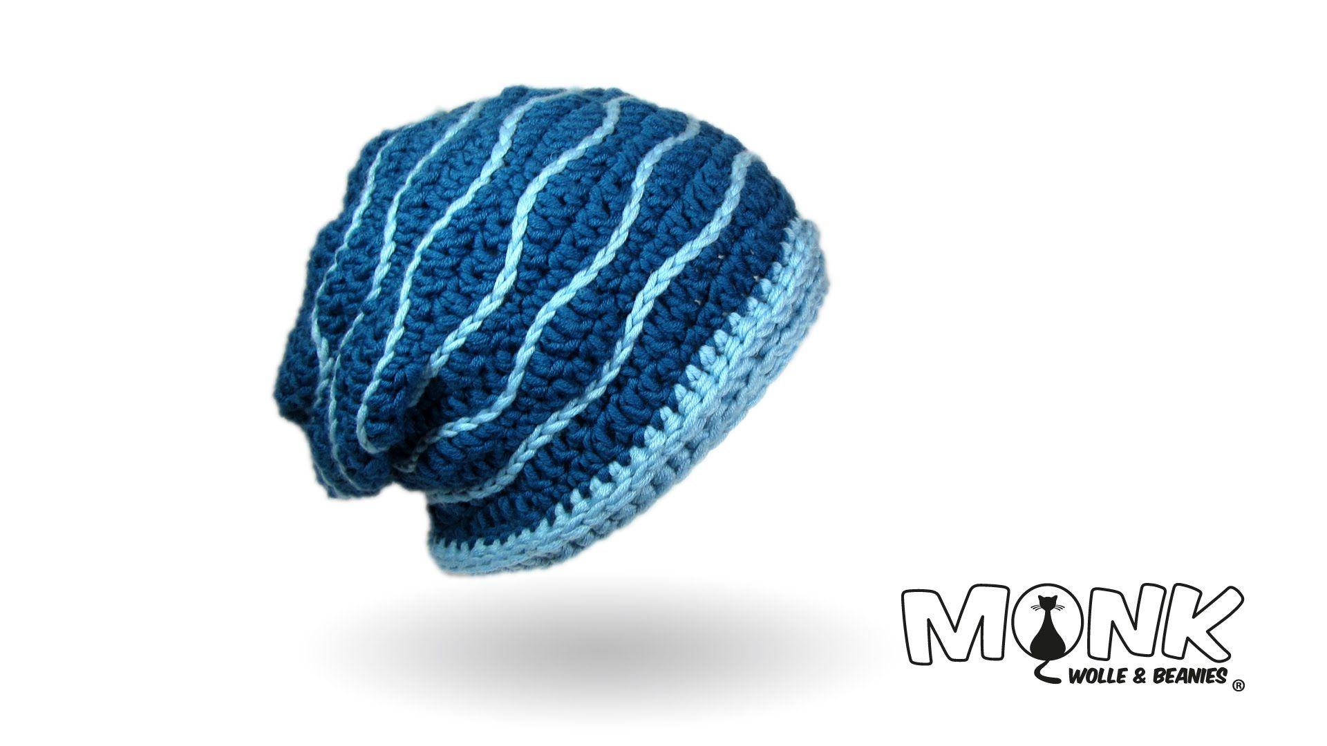 Mütze häkeln - Swell Beanie häkeln   Crochet hats, fingerless gloves ...