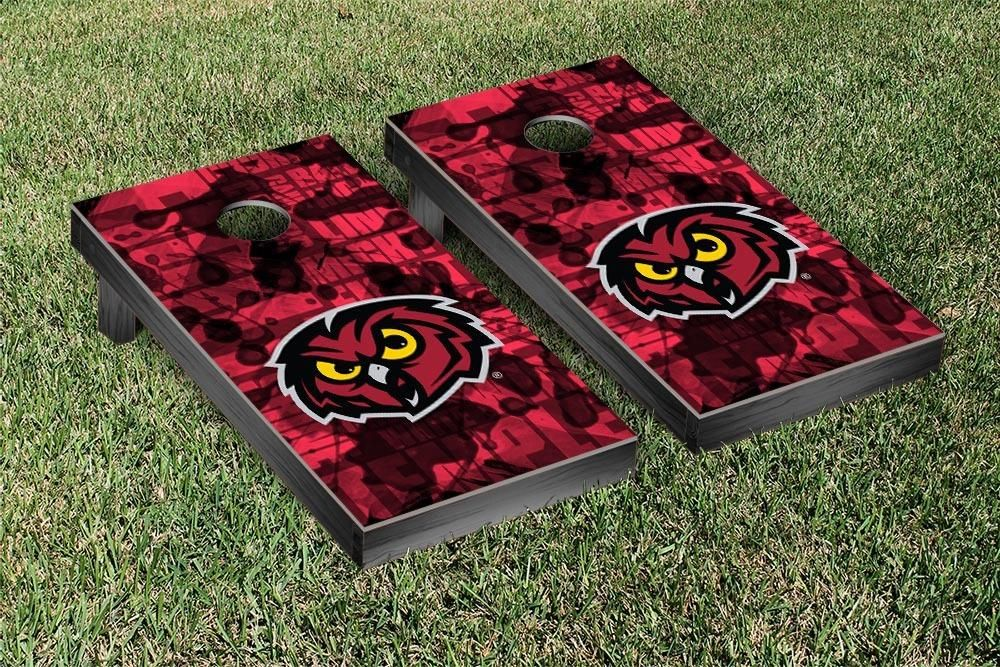 Temple Owls Fight Song Cornhole Toss Set