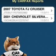 Carfax.com vin