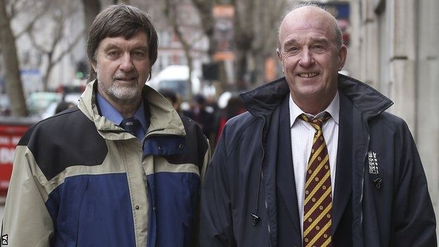 Peter Willey, 65, and George Sharp, 64, have 45 years of first-class ...