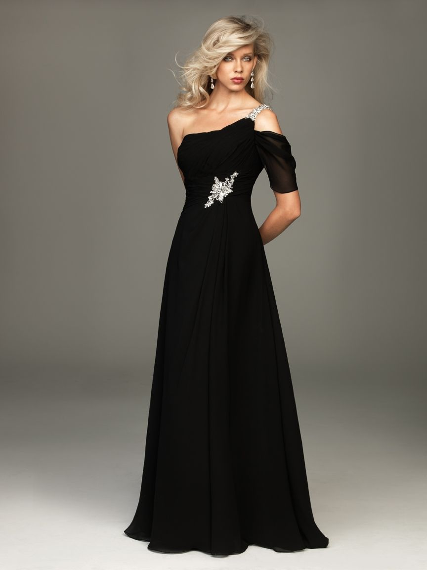 Dress Evening Dresses Black Tie