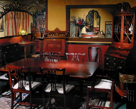 How Old Can Your English Antique Furniture Be. - Victorian America Ainsworth Antiques Offers A Wonderful