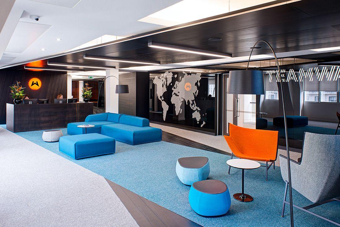 Inside Wasserman S New London Headquarters Office Interior Design Interior Design Firms Office Design