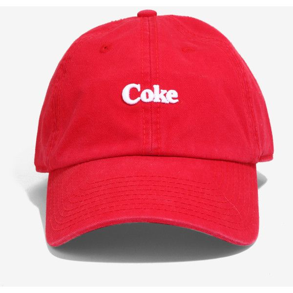 5fba366035e American Needle Coca-Cola Red Micro Logo Dad Hat (525 UAH) ❤ liked ...
