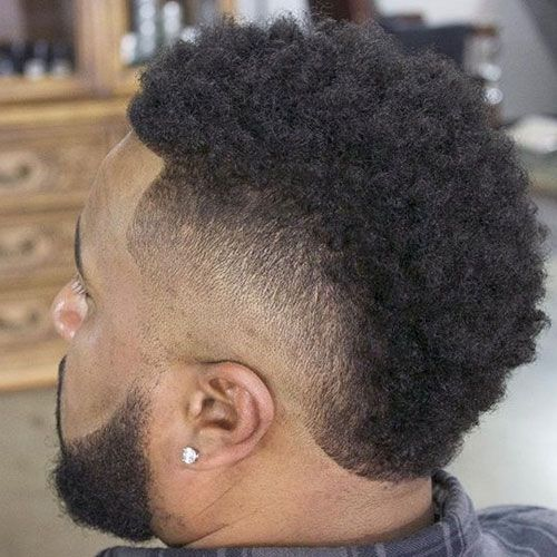 Black Men S Mohawk Hairstyles Bald Fade Mohawks And