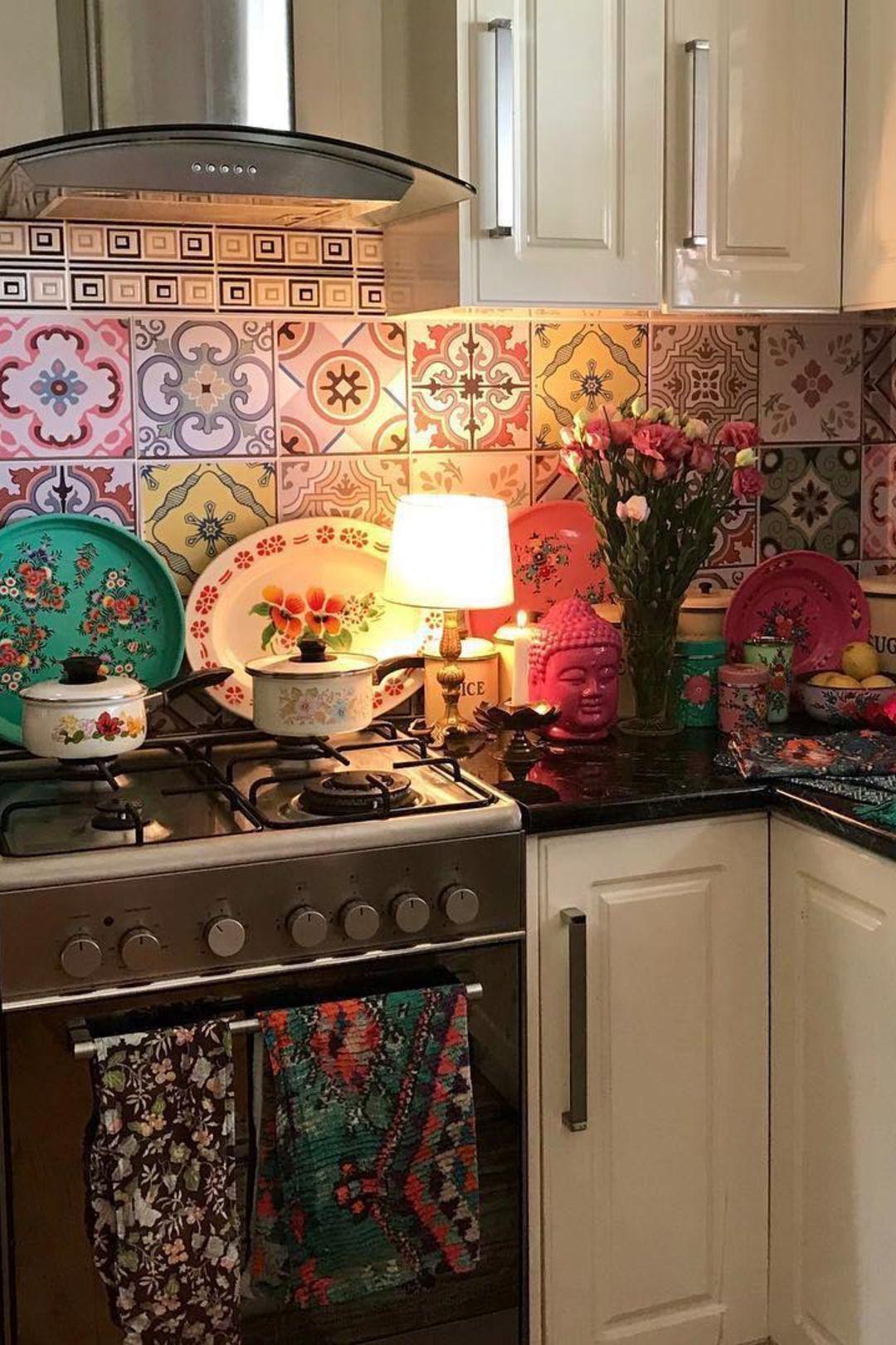 Copper Kitchen Decor Walmart Kitchen Decor Themed Kitchen Decor Sets Turquoi Copper Decor Kitchen Sets Themed In 2020 Bohemian Kitchen Hippie Kitchen Decor