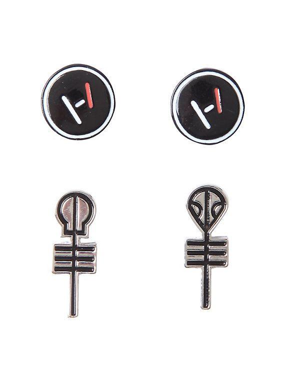 Twenty One Pilots Symbols Earring Set I Know My Ears