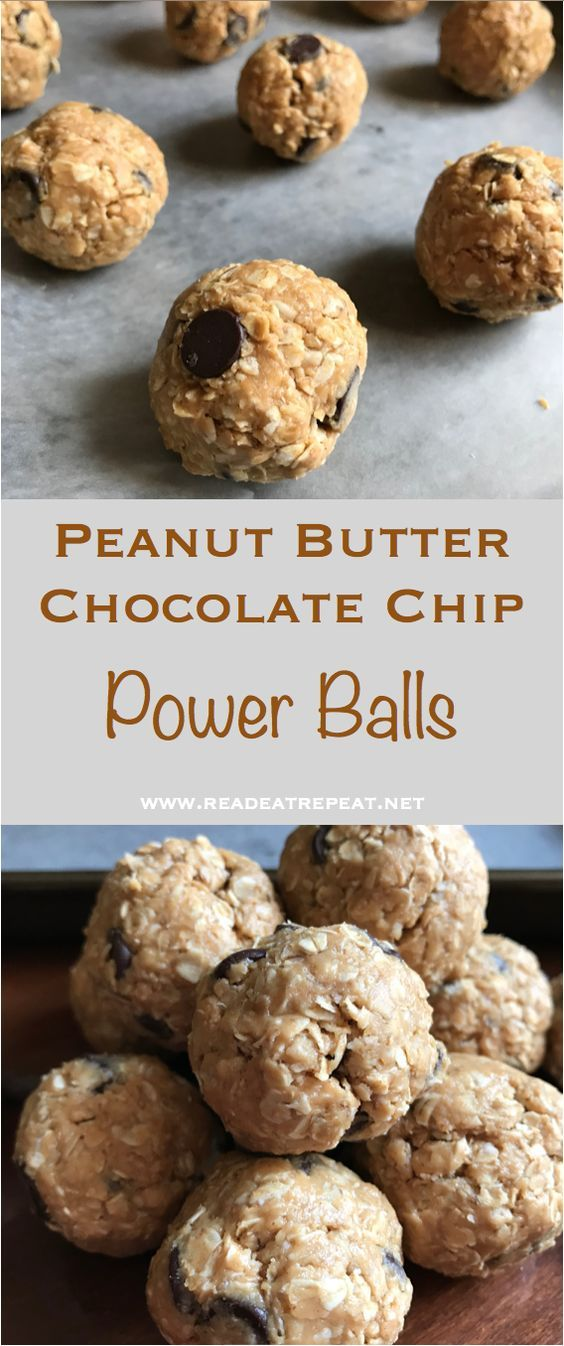 Peanut Butter Chocolate Chip Power Balls images