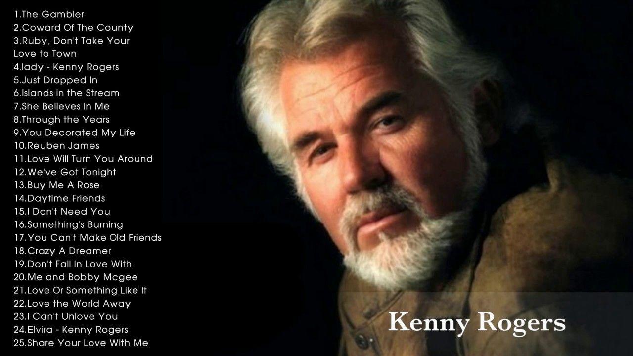 Kenny Rogers Greatest Hits Full Album Live | songs | Pinterest ...