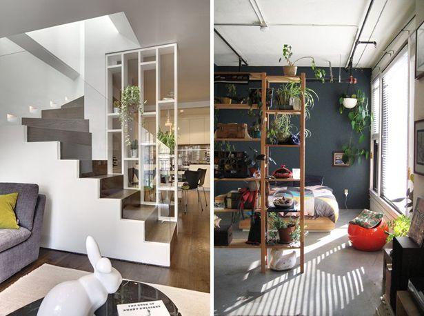 Room Divider Kast : Kast als room divider scheidingswand open kast ruimte scheiden