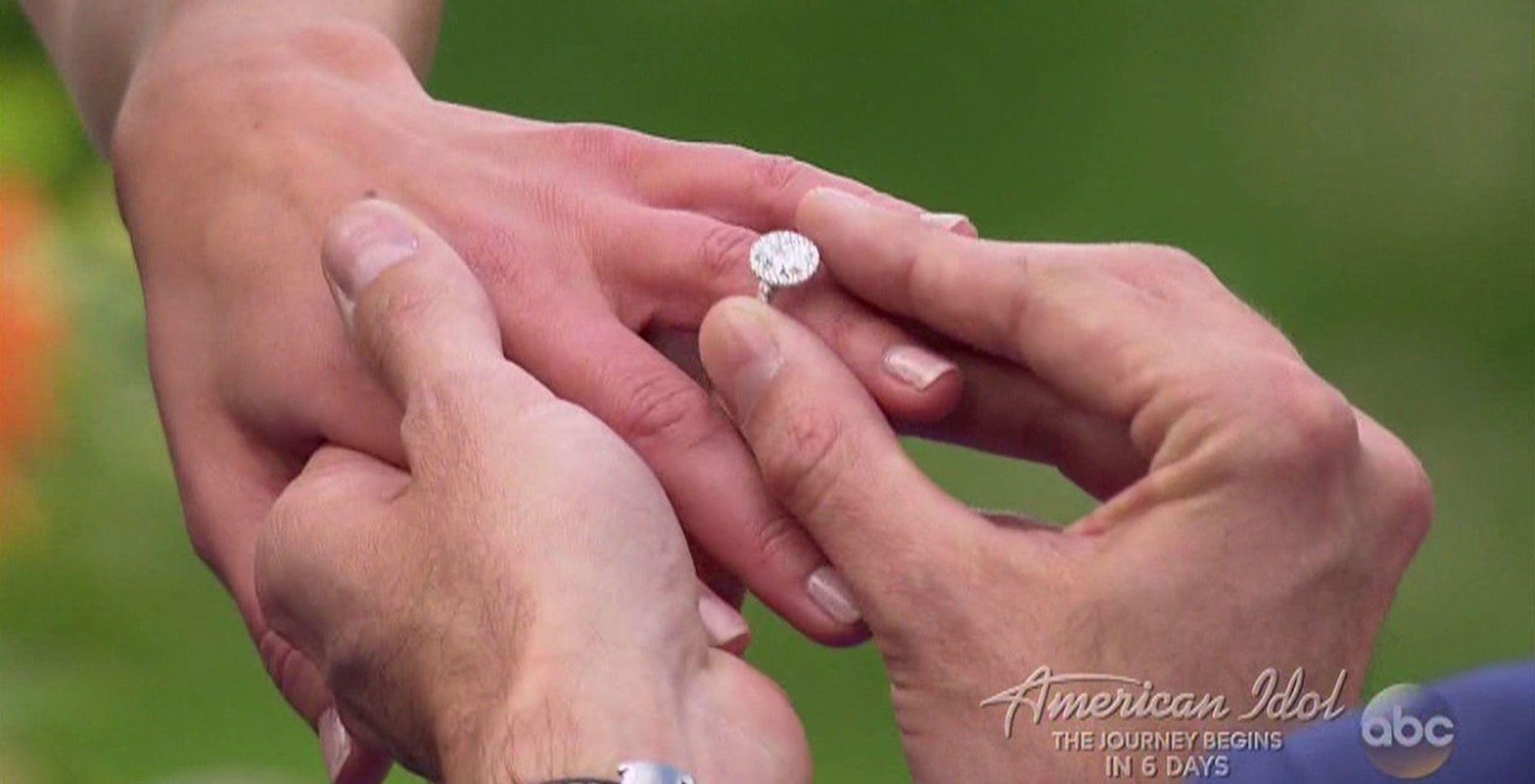 See the Engagement Ring Bachelor Arie Luyendyk Jr. Gave Becca Kufrin ...