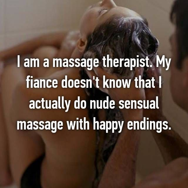 captions Happy ending massage