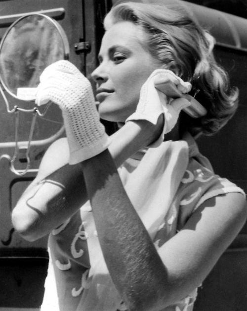 Stunningly beautiful Grace Kelly-she had hairy arms like you!!!!!
