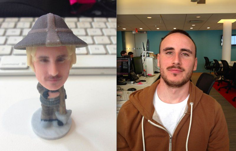 3d print a bobble head of yourself