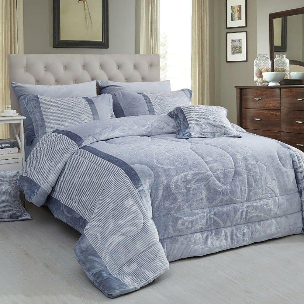 لحاف شتوي مفرد ونص 5 قطع ميروس Blanket Bed Home