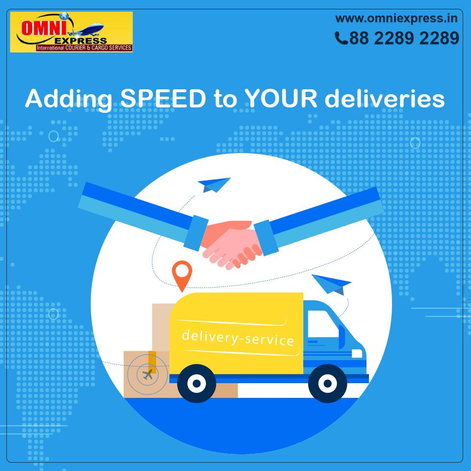 Pin by Omniexpress In on courier services Courier