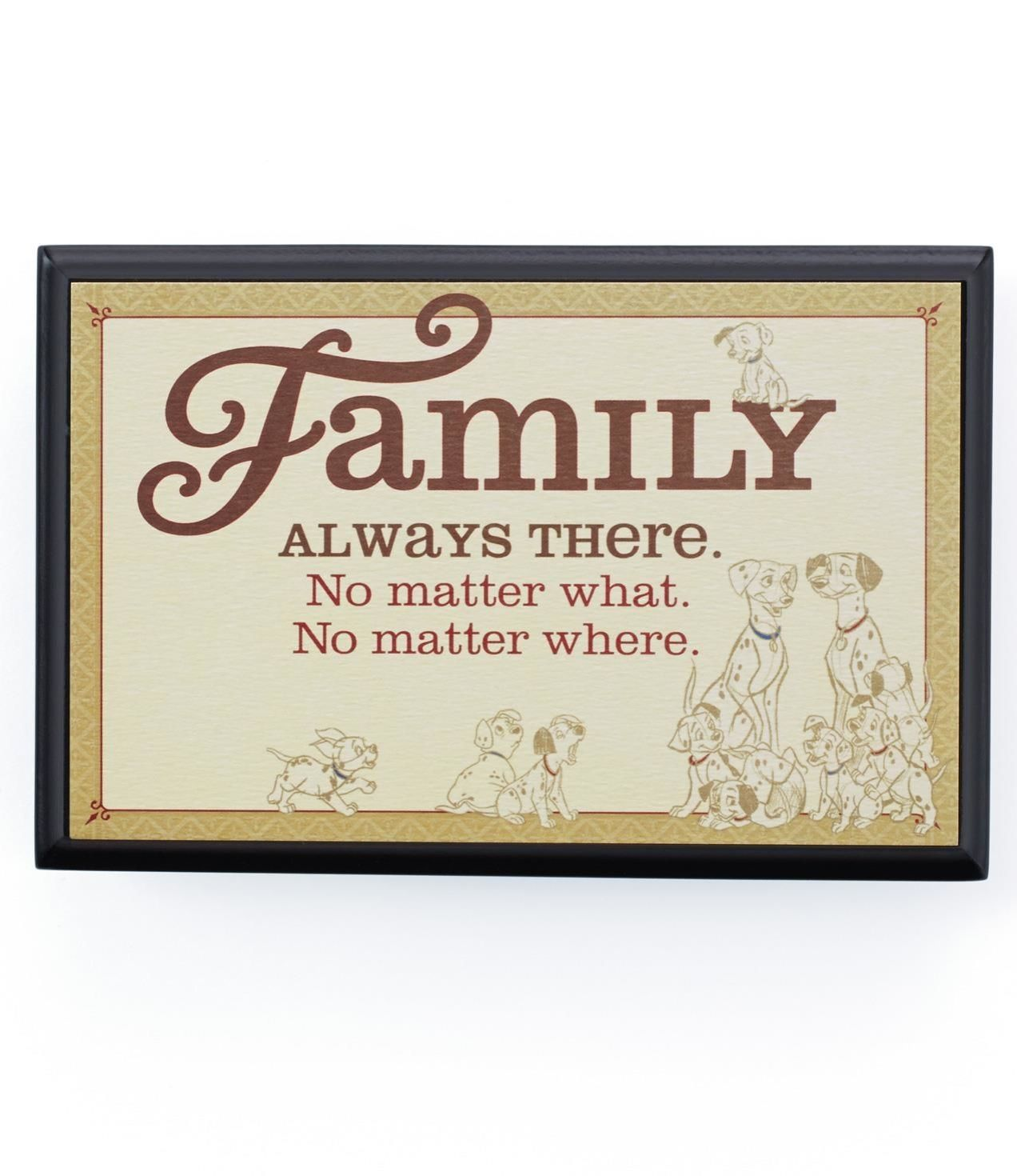 Disney Quote Plaques: Family Quote From The 101 Dalmatians