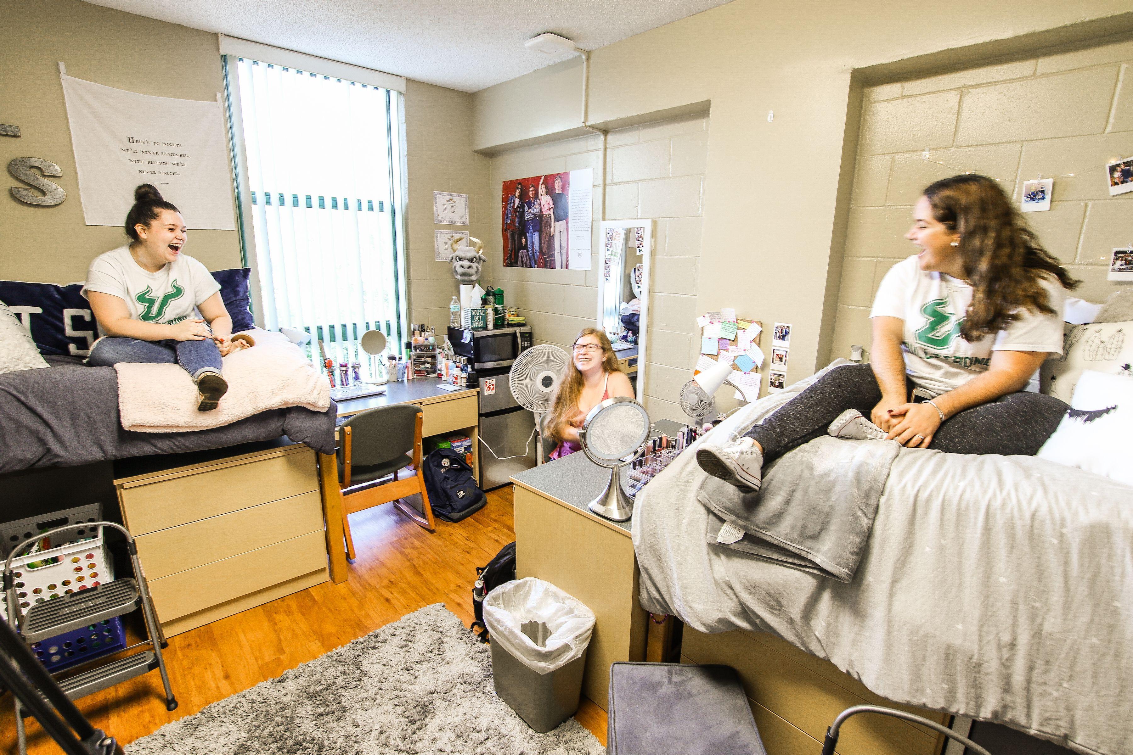Castor Hall Bedroom Dorm Organization Dorm Room Room